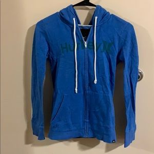Hurley zip up jacket
